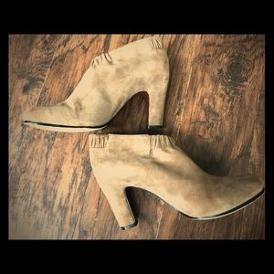 ❤️Suede ankle boots Simone,Sam Edelman,Tan,Size 8
